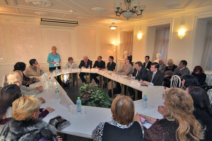 Пресс-конференция в Москве1