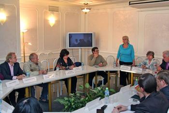 Пресс-конференция в Москве2