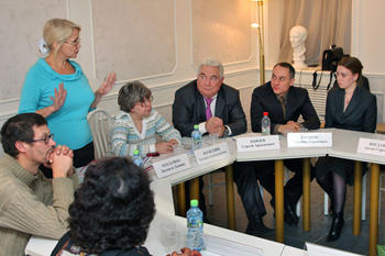 Пресс-конференция в Москве3