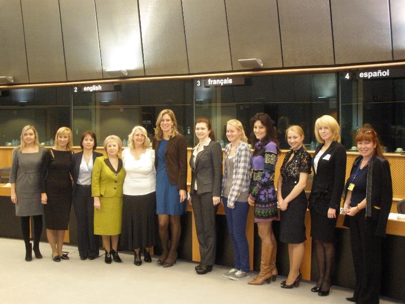 VIP-встречи в Европарламенте3