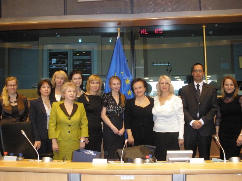 VIP-встречи в Европарламенте6