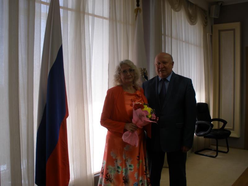 Л.Л.Хохлачева и В.П. Шанцев