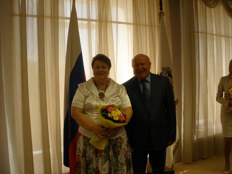 Г.А.Савченкова и В.П. Шанцев